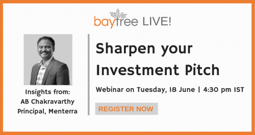 BayTree Live! Sharpen your Investment Pitch