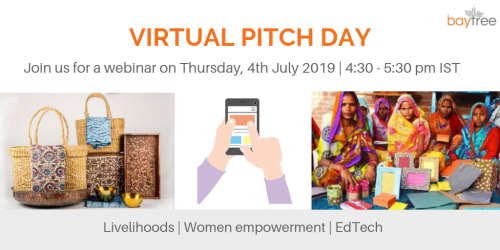 BayTree Virtual Pitch Day - July 2019