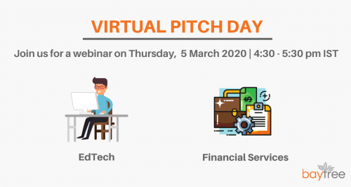 BayTree Virtual Pitch Day - March 2020